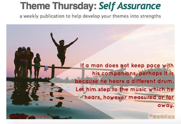 Self – Assurance