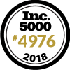 INC. 5000 2018 medallion
